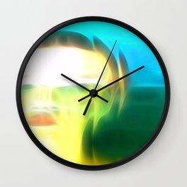 Pixel Push Series: Bridget 3 Wall Clock