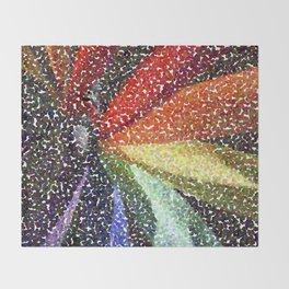 Pinwheel Seurat I Throw Blanket