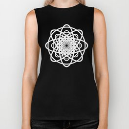 Not Quite Tangled Inside Out Biker Tank