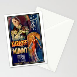 The Mummy Stationery Cards