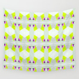Polygon Neon Wall Tapestry
