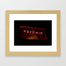 A Distinctive Shade of Red (7th & Bleecker) Framed Art Print