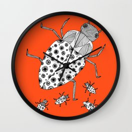 Roach Family Wall Clock