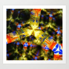 Kaleidoscope Patterns Art Print