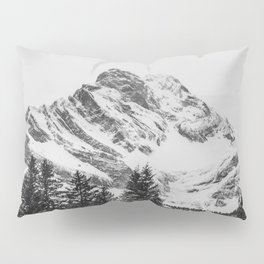 black and white like forest and snow Pillow Sham