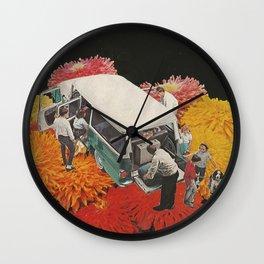 Family trip Wall Clock