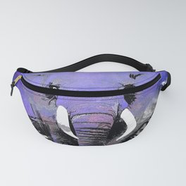 ELEPHANT MOON MOUNTAINS AND STARS Fanny Pack