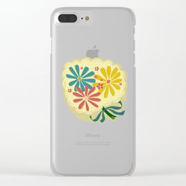 Lucy Floral Clear iPhone Case