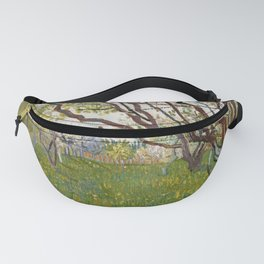 Vincent van Gogh - The Flowering Orchard (Cherry Tree) (1888) Fanny Pack