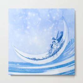 MOONLIGHT FAIRY Metal Print