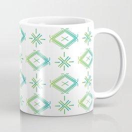 UrbanNesian Green & Turquoise Malu Coffee Mug