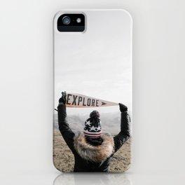 Explore, Travel, Adventure iPhone Case