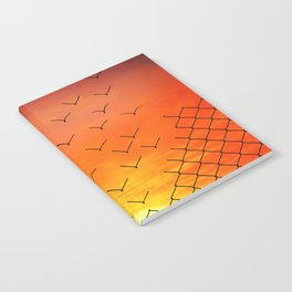 sunset escape Notebook