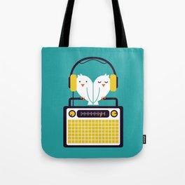Radio Mode Love Tote Bag