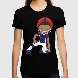 African American Boy, Cute Boy, American Football T-shirt