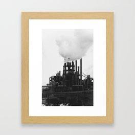 Smoky Bird Framed Art Print