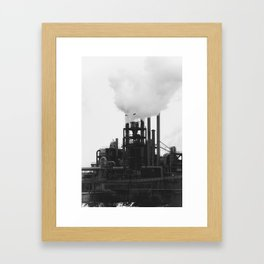 Smoky Bird Framed Art Print
