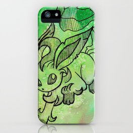 Leafeon iPhone Case
