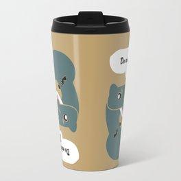 Do mink dreams... (c) 2017 Travel Mug