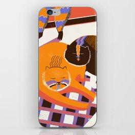 Cat Nap iPhone Skin