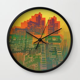 Station / Spatial Factor 19-12-16 Wall Clock