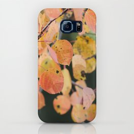 aspen leaves. iPhone Case