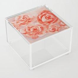 Floating Roses Acrylic Box