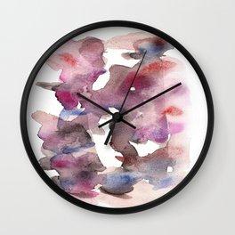 Watercolor a2ing Wall Clock