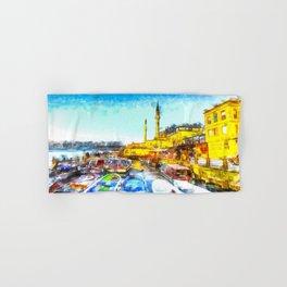 Istanbul Art Hand & Bath Towel