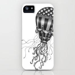 Jellyfish Air Balloon iPhone Case