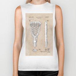 patent art Tucker Lacrosse stick 1967 Biker Tank