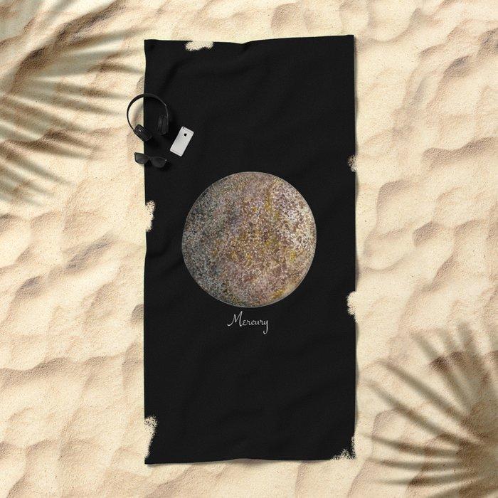 Mercury #2 Beach Towel