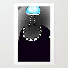Monster. Art Print