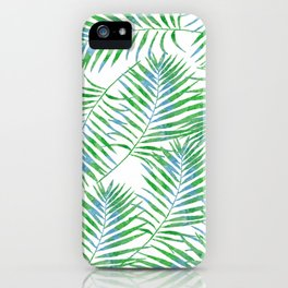 Fern Leaves iPhone Case