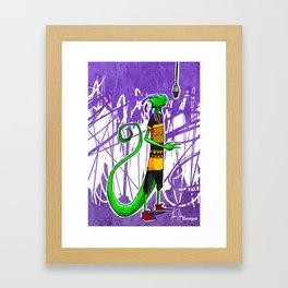 Geko Framed Art Print