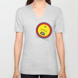 I love the traditional means of communication.  The handwritten message when travel was not as easy. Unisex V-Neck