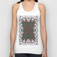 merry christmas Tank Tops featuring Merry Christmas by MissCrocodile63