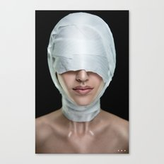 I CAN'T SEE Canvas Print