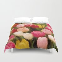 tulips Duvet Covers featuring *Tulips* by Mr and Mrs Quirynen