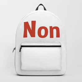 Non Backpack