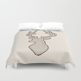 My Deer Tree Duvet Cover