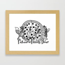 Fazbear's Family Diner Logo Framed Art Print