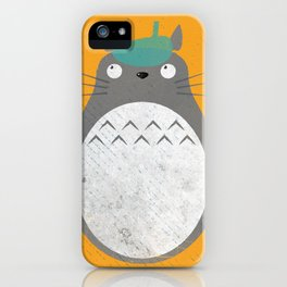 Homenaje a Totoro iPhone Case