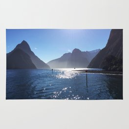 New Zealand's beauty *Milford Sound Rug