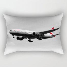 British Airways Boeing 777 Rectangular Pillow