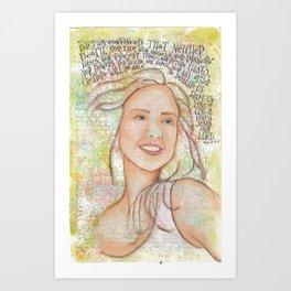 Love by patsy paterno Art Print