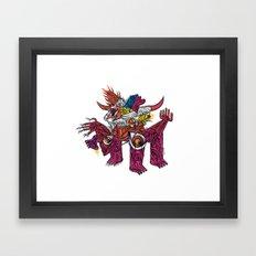 Kosmotoro - Print available! Framed Art Print