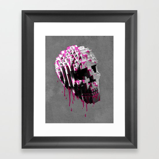 Cranium Framed Art Print