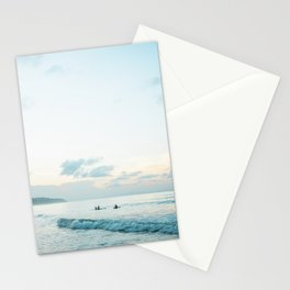 Once your board hits the water  | Surf travel photography print Stationery Cards