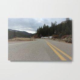 Jemez Springd Open Road Metal Print